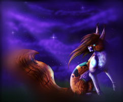 Just a dream + Speedpaint by xCrowwingx