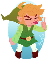 Toon Link by OtherVio
