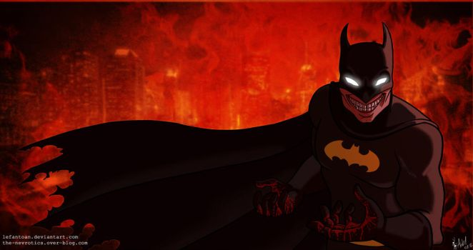 Batman, the killing Gotham by Lefantoan