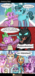 Changeling Friend by luminaura