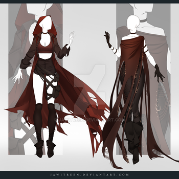 (CLOSED) Adoptable Outfit Auction 260-261 by JawitReen
