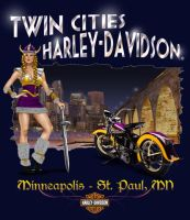 Twin Cities Harley-Davidson by Click-Art