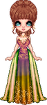 Harmony Aura woodland haute couture by Heartsdesire-fantasy