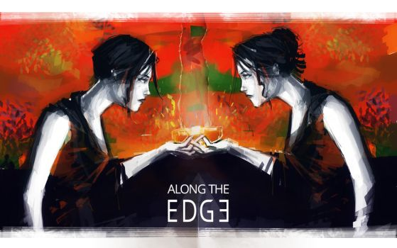 Along the edge: concept art by nfouque