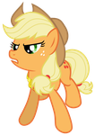 Vector: Applejack 19 by EStories