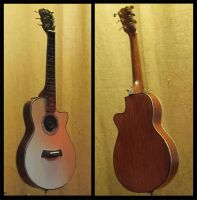 Katy Perry's Taylor Acoustic in 1/6 scale by cbgorby