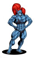Gettar's Undyne colored by Ritualist