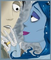 Corpse Bride _ Goodbye. by IslaDelCoco