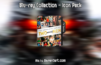 Two and a half men - Icon Folder by M616