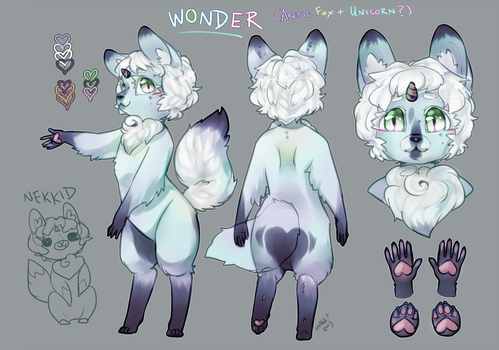 Wonder! :Character Sheet: by haleyaliya