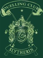 Slytherin Duelling Club Tee by Breogan