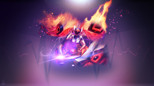 Dj Sona Concussive ~ League of legends - Wallpaper by Aynoe