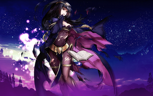 1440x900 FE:Heroes Tharja Wallpaper by adorbsu