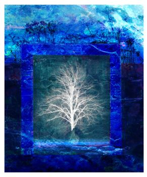 Ice Tree by Mikeillustrator