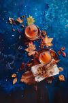 Autumn tea with unsent letters by dinabelenko