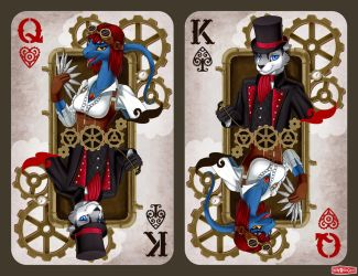 Commission - Steam cards by WWRedGrave