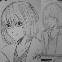 Young Mello sketch by YumeSamasLover