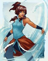Korra by psycho-kitty