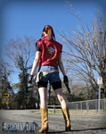 The Streets of Raccoon-RE: DC Claire Redfield by Hamm-Sammich
