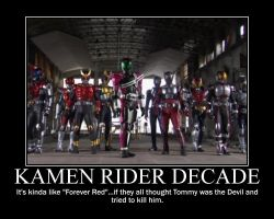 Kamen Rider Decade by maybetoby