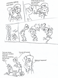 Sketch Comic The brothers Candace by toongrowner