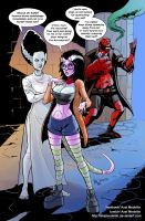 TLIID 229. Hellboy's and the Bride's daughter by AxelMedellin