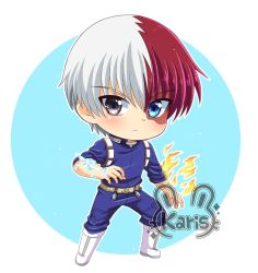 todoroki-chibi(Boku no hero) by KARIS-coba