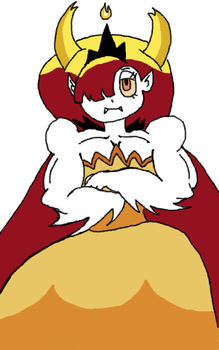 Hekapoo been working out by mrredexorcist