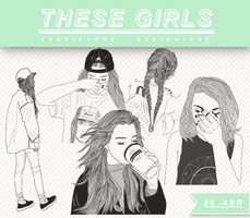 #1 THESE GIRLS  [ brushes ] by tropicsong