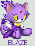 Plushie Collection: Blaze by Omnicenos