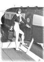 aviation pinup sketch 002 by michaelelsaesser69