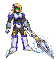 Platina's Heavy Engage Suit (MMX:U49) by IrregularSaturn