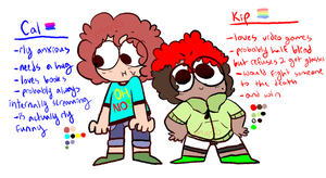 cal and kip refs by spacescoob