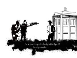MIB finally catch up with the Doctor by Mr-Saxon