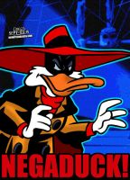 Cartoon Villains - 061 - Negaduck! by CreedStonegate