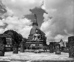 Sukhothai temple complex #3 by Roger-Wilco-66