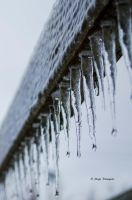 Falling ice... by TheLittleMaja
