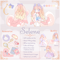 Selene Reference Sheet (Waiting Approval) by ParfyWarfy