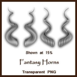 Fantasy Horns by shd-stock