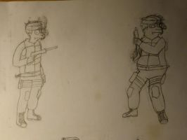 Fry and Hermes Soldiers by Spaceman130