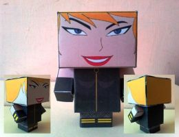 Cubeecraft Black Canary Completed by handita2006