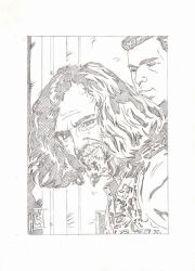 Charles Manson - Artwork 1 P. by The-Real-NComics
