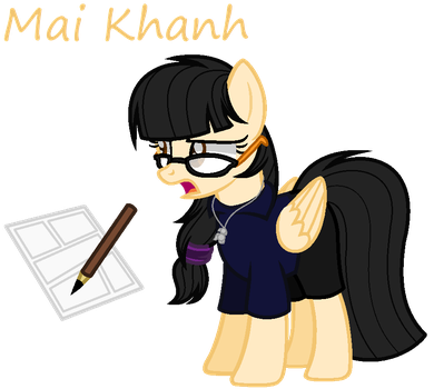 Mai Khanh (My ponysona) by FlamingFlare123