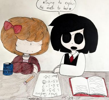 Private Tutoring (Silence + Macy) (Baldi's Basics) by Cosmic86