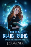 Once In a Blue Rune - Book Cover by FrostAlexis