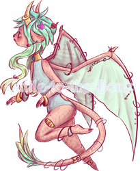 Adopt Sale [5USD] -Dragon Girl  [CLOSED] by Cuttle-to-the-Bone