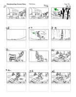 The Great Piggy Bank Robbery Reverse Storyboard03 by LeevanCleefIII