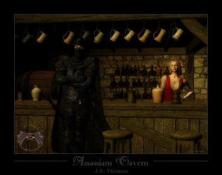 Assassians Tavern by JSThomas