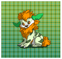 My DYO Growlithe/Cottonee Cross