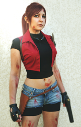 Claire Redfield ~ Resident Evil Cosplay by Dragunova-Cosplay